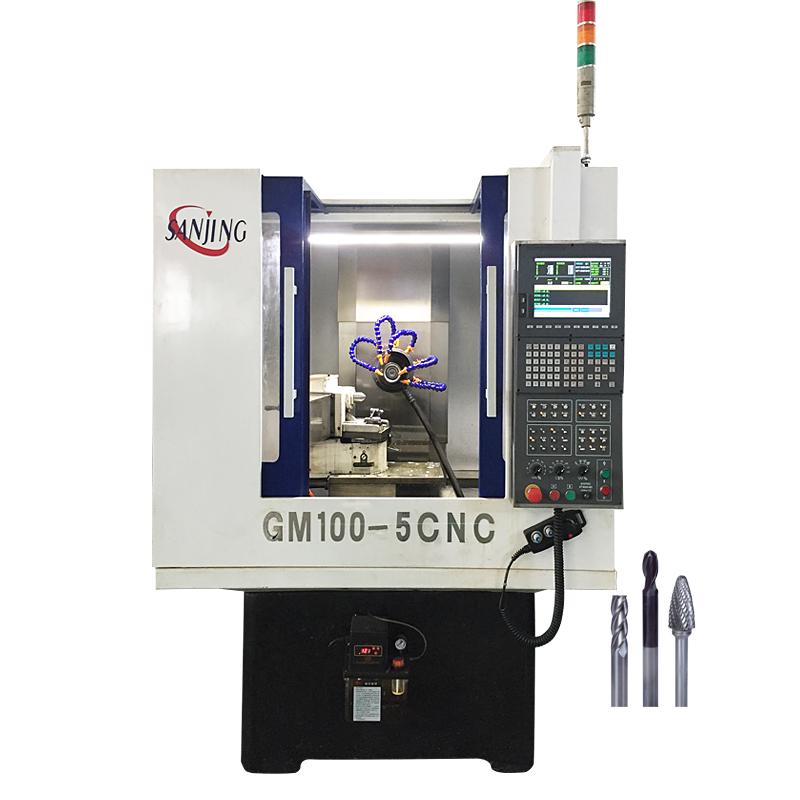 三精五軸數控微刀磨床GM100-5CNC車針磨床